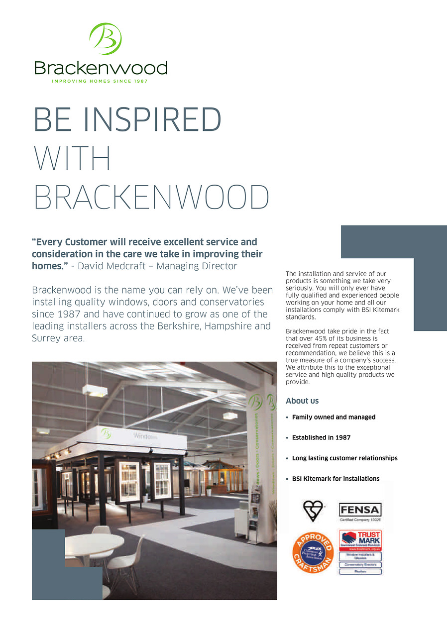 Brackenwood-Be-Inspired-Brochure-PDF - Flipbook - Page 1