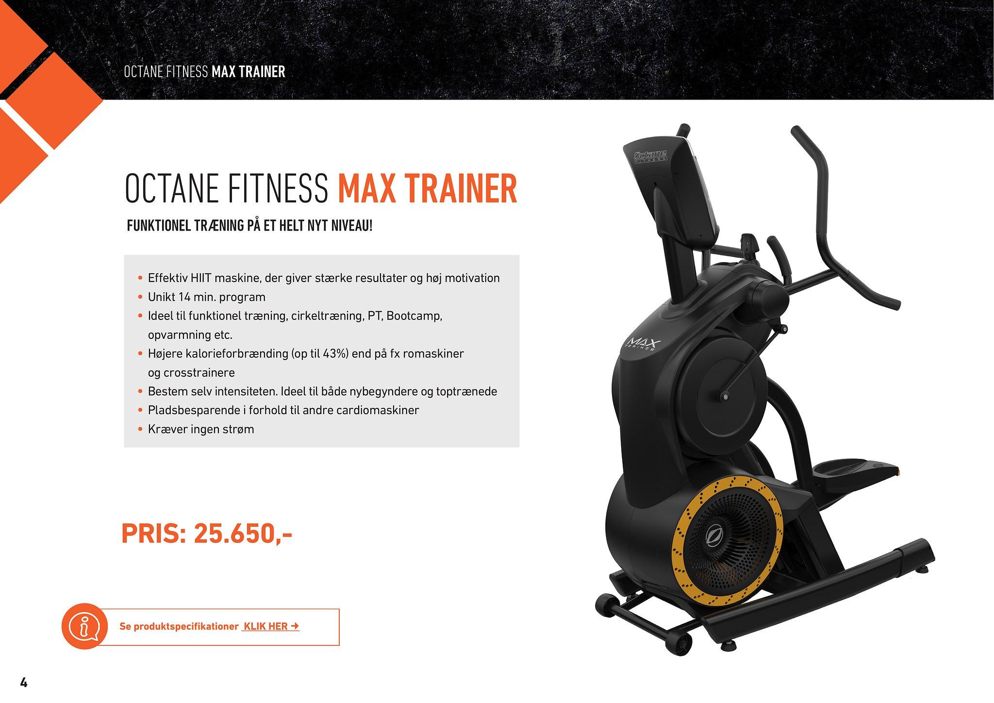 Max Trainer – HIIT – MedicSport