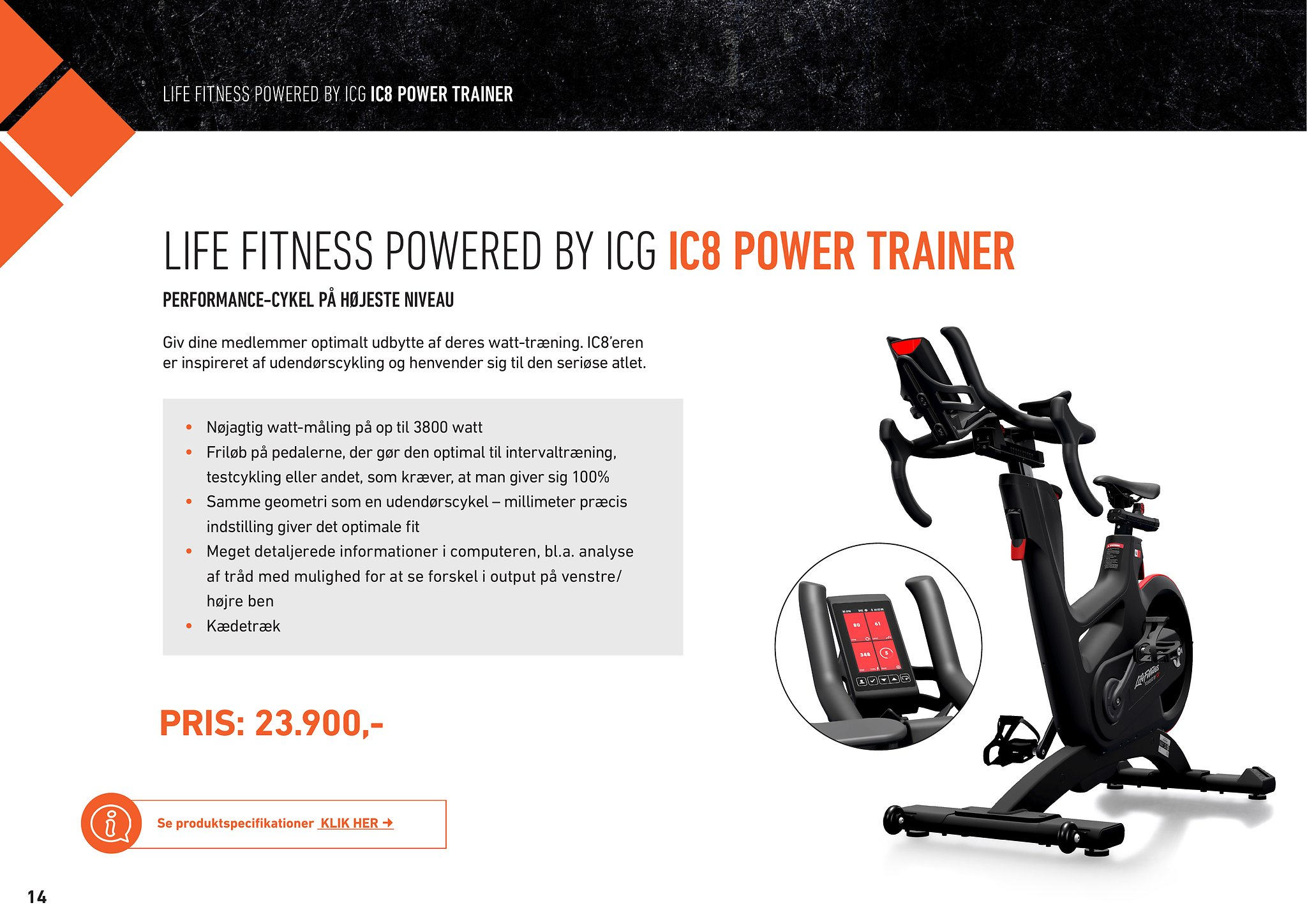 IC8 Power Trainer – HIIT – MedicSport