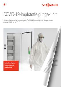Covid-19 Impfstofflagerung von Viessmann DE 12.01.2021