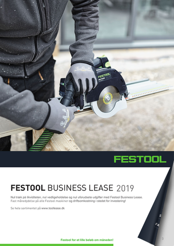 Festool Business Lease 2019 hos Dorch & Danola