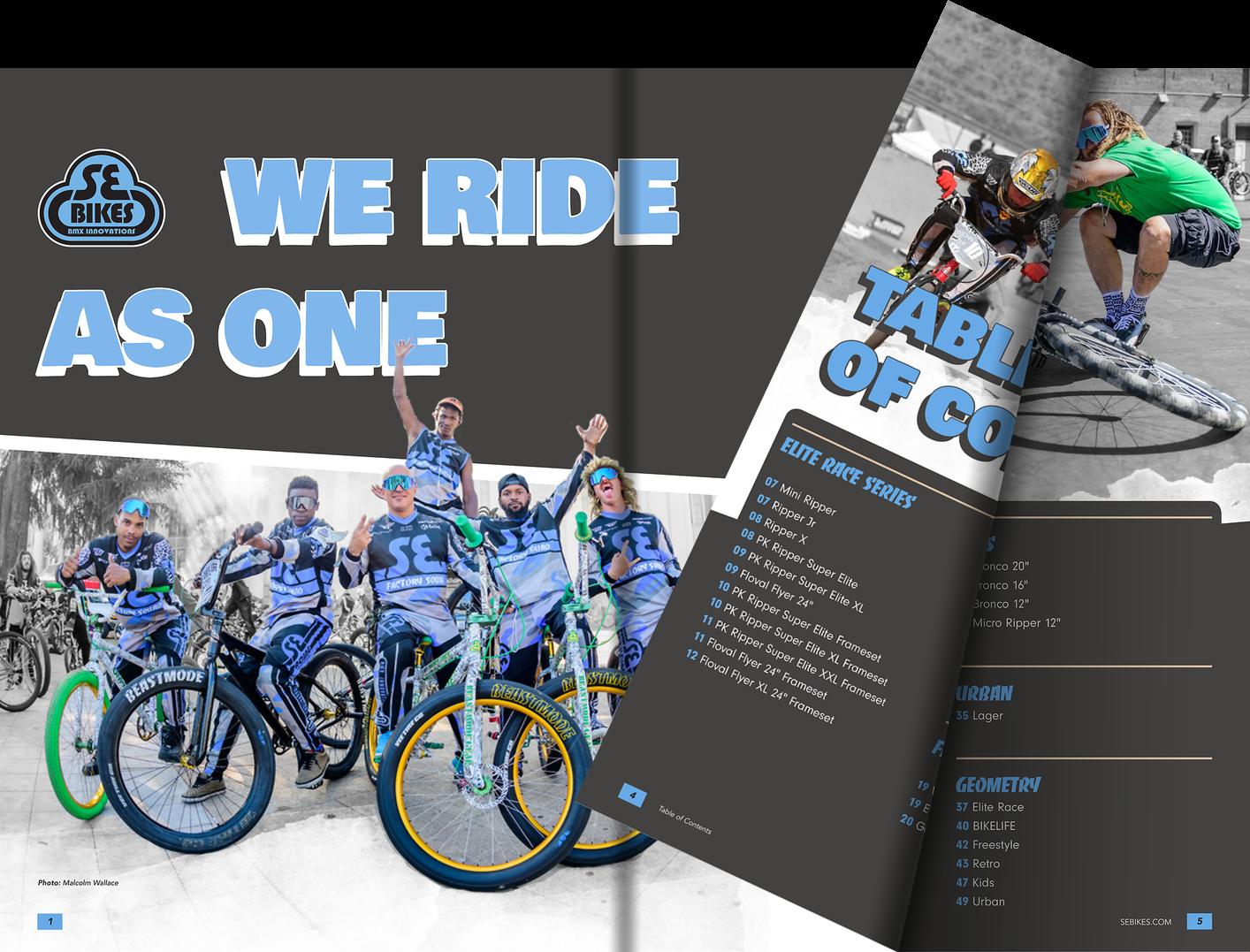 SE Bike Catalog 2021