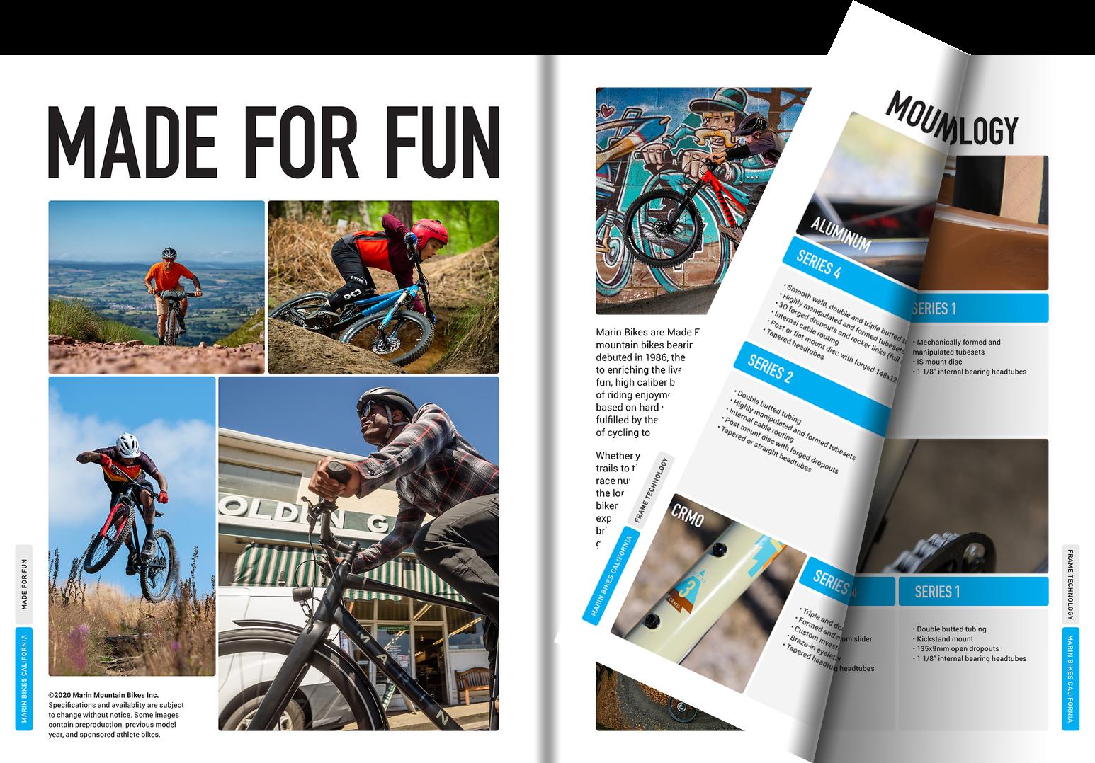 Marin Bike Catalog 2021