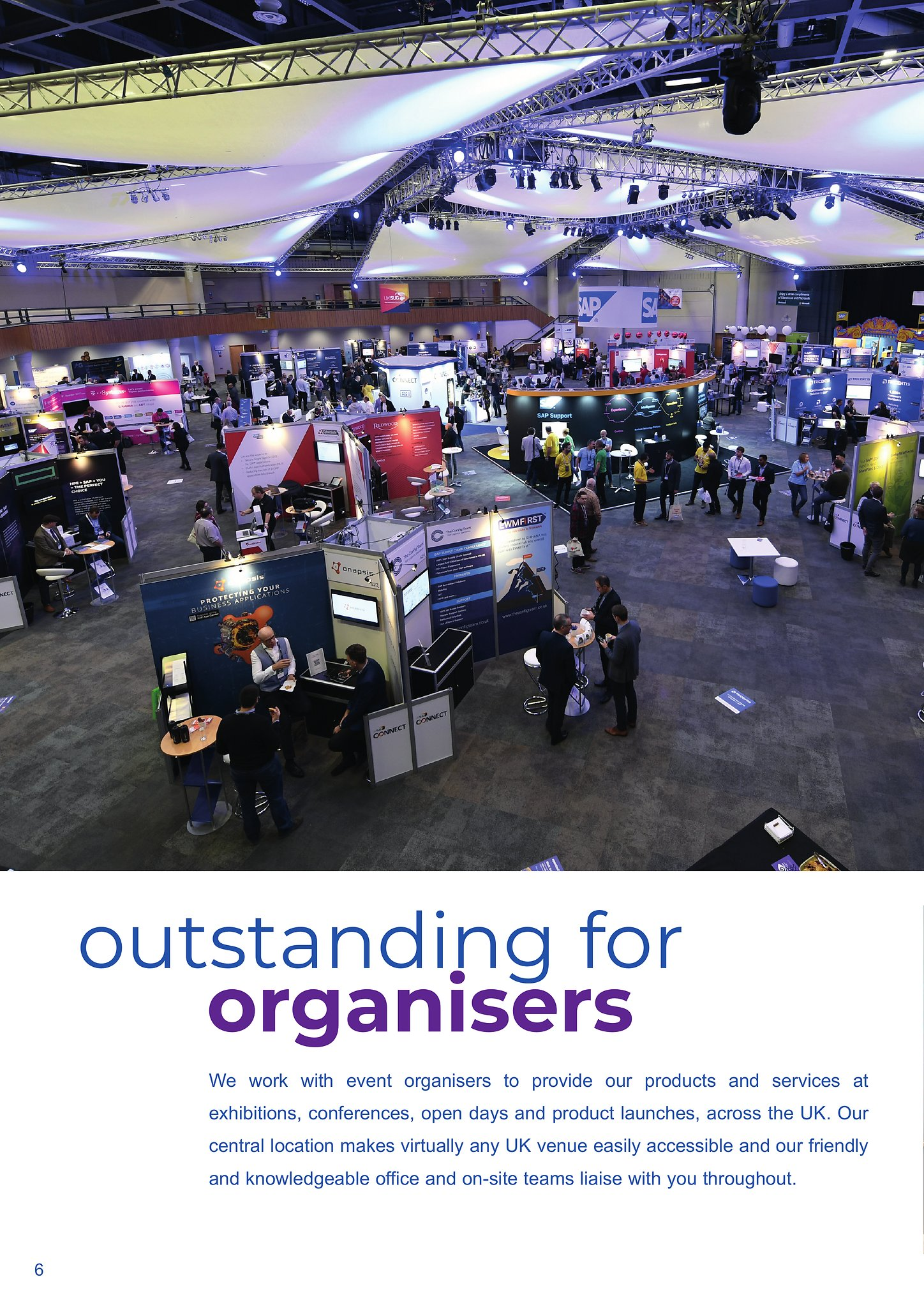 Outstanding For Organisers