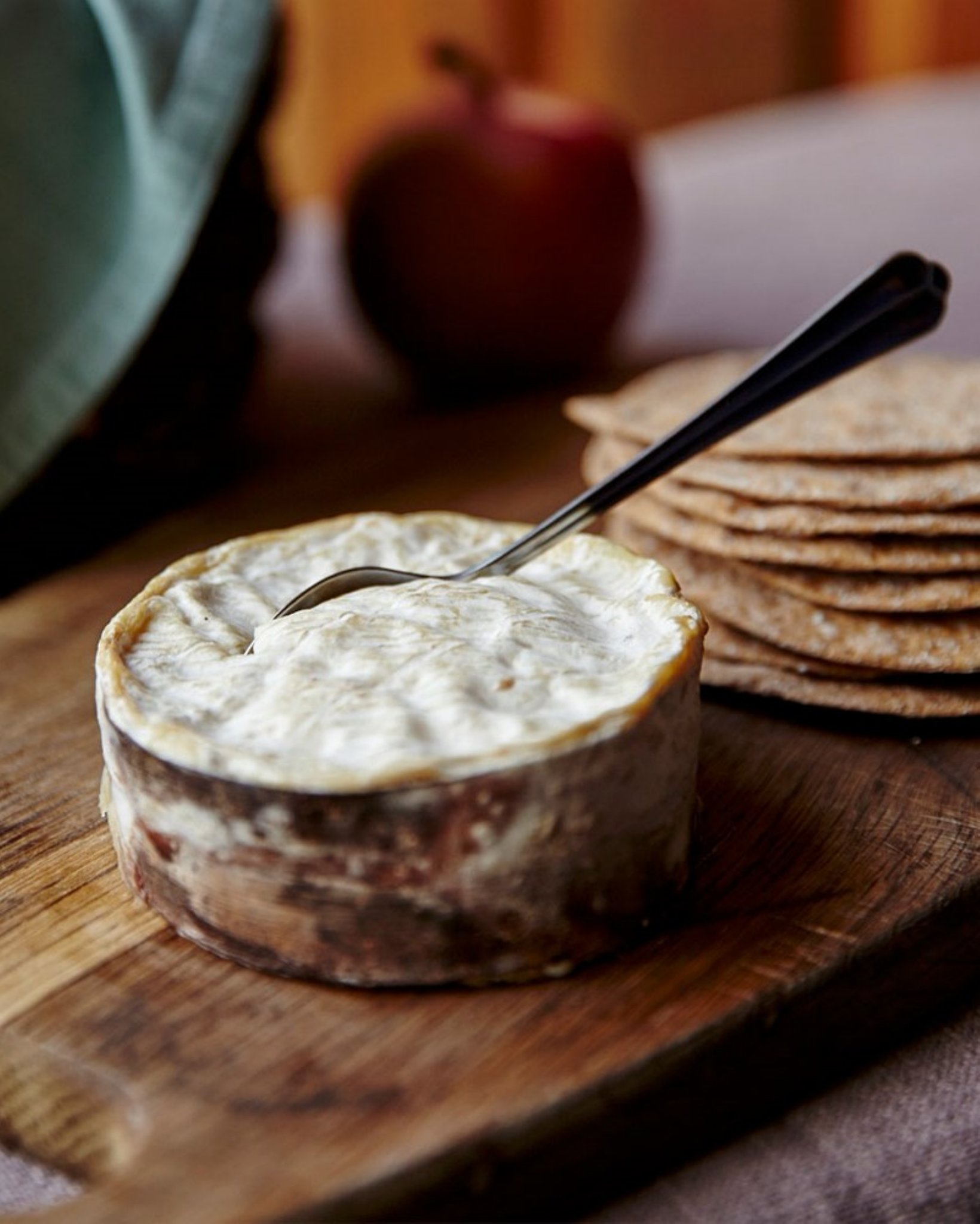 Winslade - Vacherin/Camembert cross from the Hampshire Cheese Company