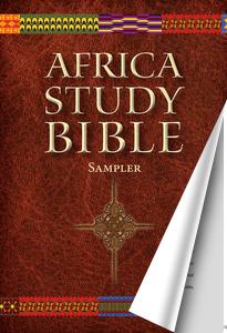 Africa Study Bible Sampler