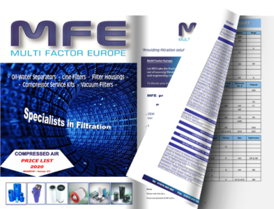 MFE PRICE LIST  - MARCH 2018