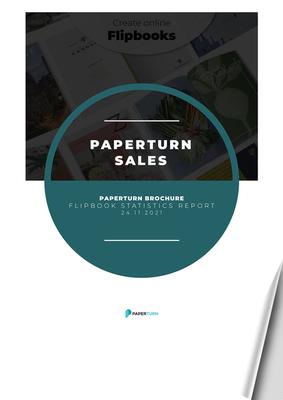 HELP GUIDE - STATISTICS - Paperturn