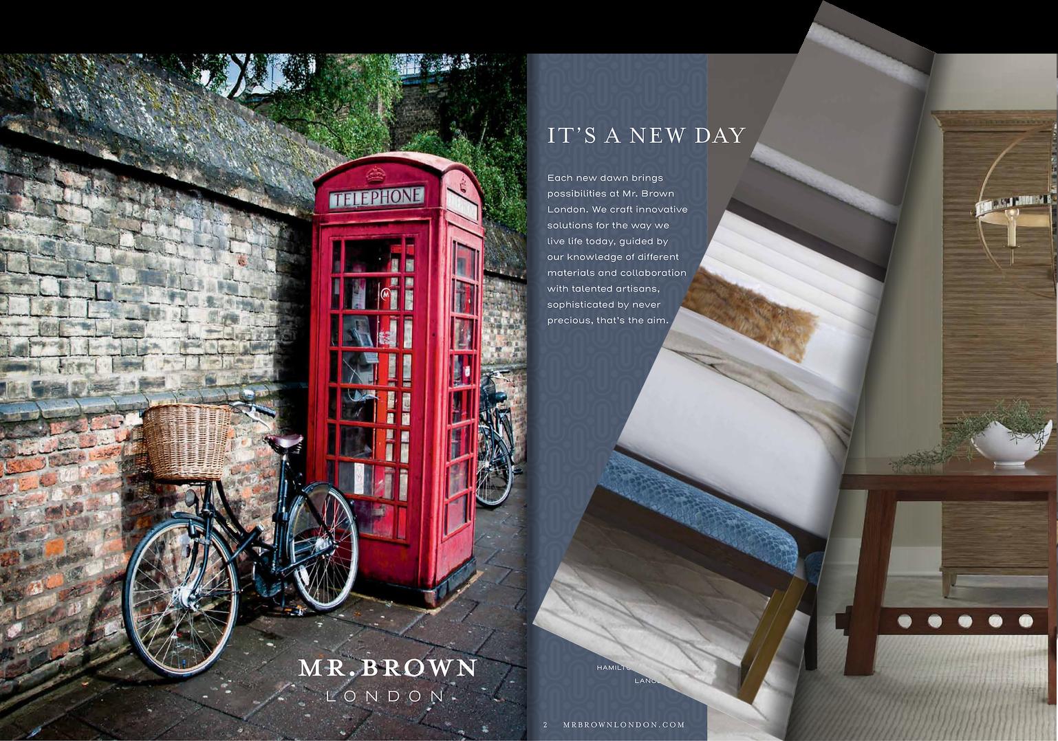 Mr Brown London 2021 Catalog