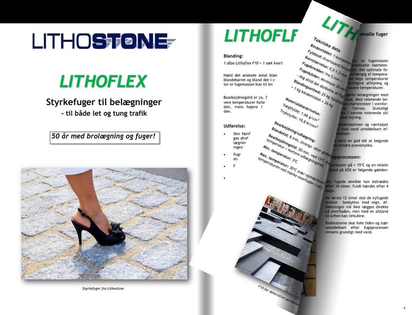 Lithoflex Styrkefuger