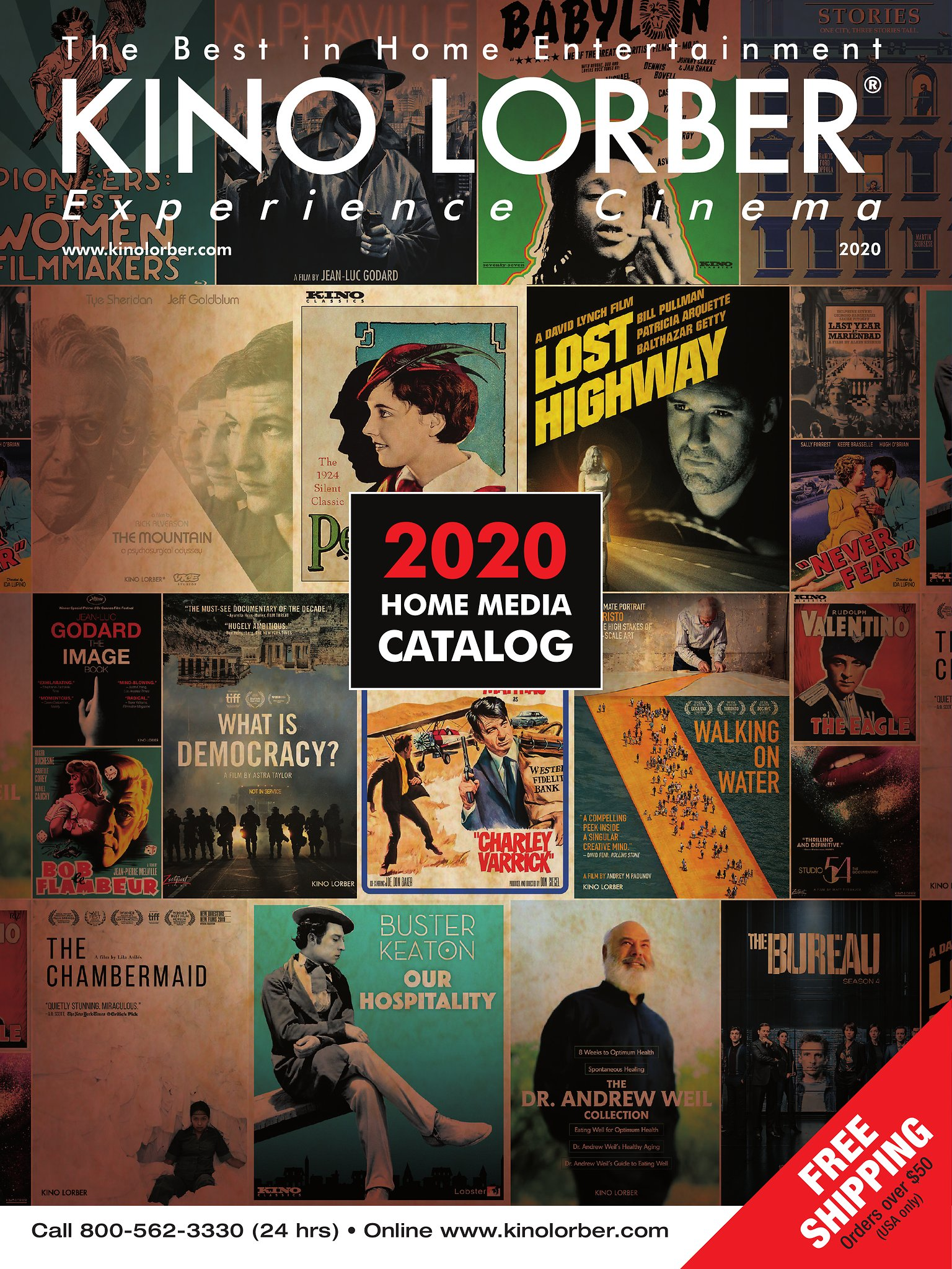 Kino Lorber Home Video Catalog 2018-19