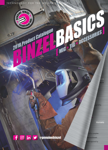 THE BINZEL BASICS 2018 Product Catalogue